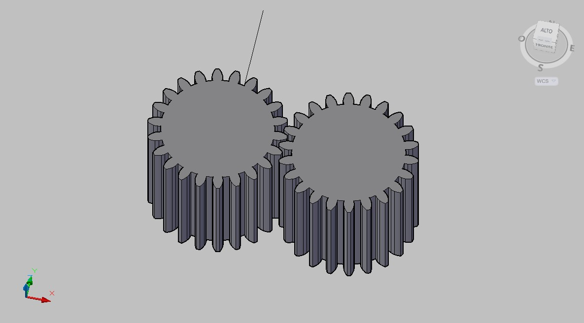 Disegnare i denti di una ruota dentata profilo ad for Programma per disegnare in 3d facile